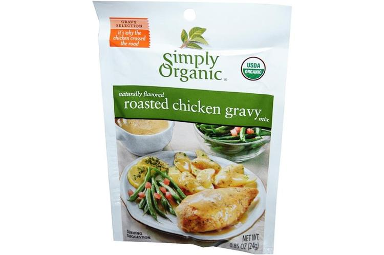 Simply Organic - Roasted Chicken Gravy Mix ( 12 - .85 oz packets)