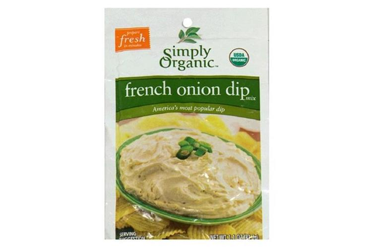Simply Organic - French Onion Dip Mix ( 12 - 1.1 oz packets)
