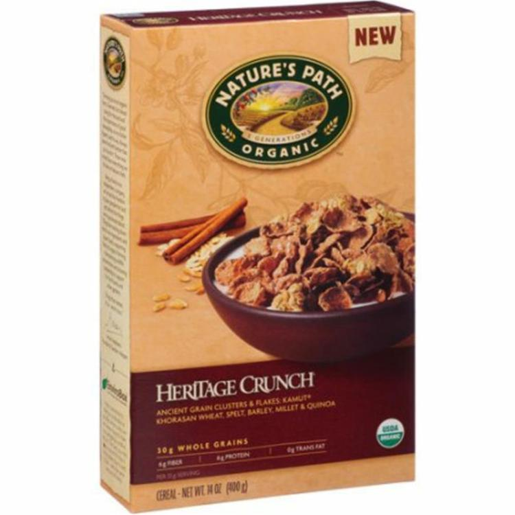 Nature's Path - Organic Heritage Crunch Cereal ( 12 - 14 oz boxes)