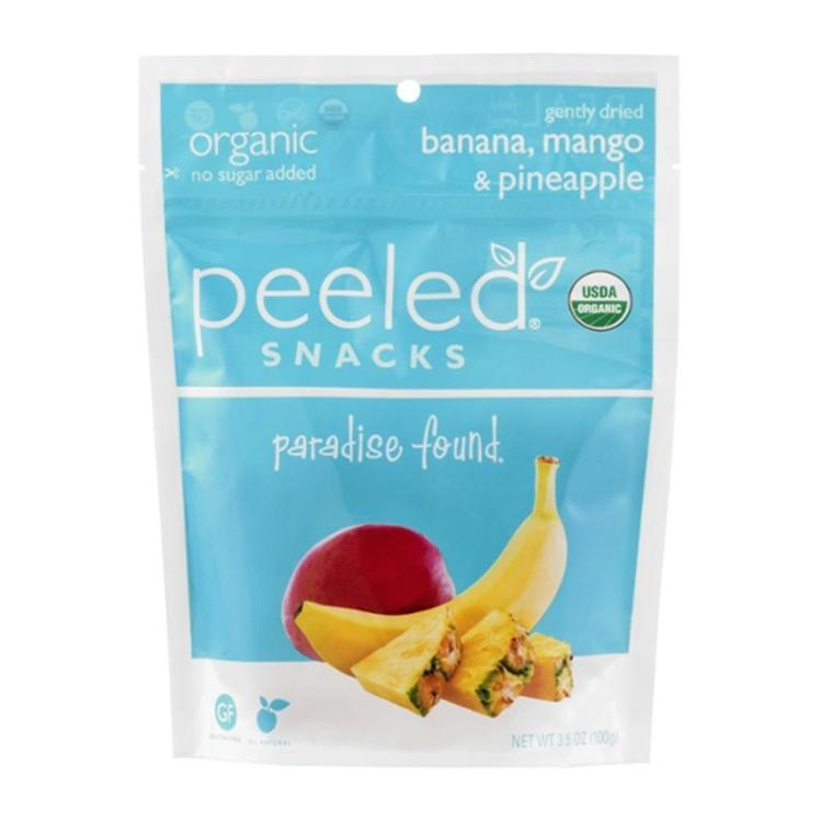 Peeled - Paradise Found Fruit Pouch ( 12 - 3.5 oz bags)