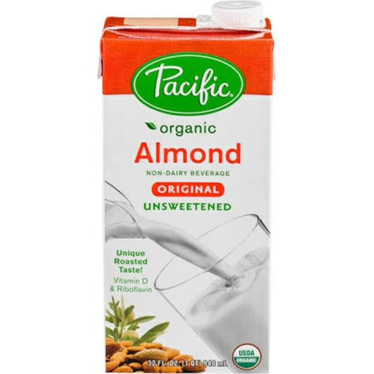Pacific Natural Foods - Original Unsweetened Almond Milk ( 12 - 32 oz boxes)