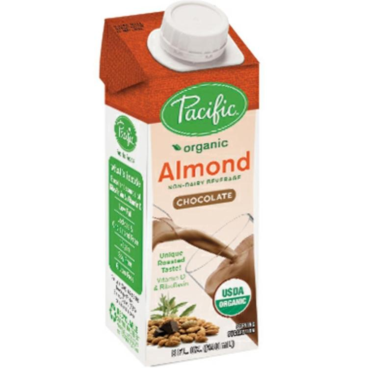 Pacific Natural Foods - Naturally Almond Chocolate Beverage ( 24 - 8 oz boxes)