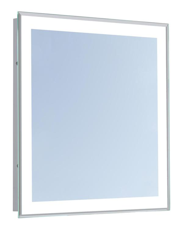 """Elegant Lighting 4 Sides LED Edge Electric Mirror Rectangle 24""""W x 40""""H Dimmable 5000K"""