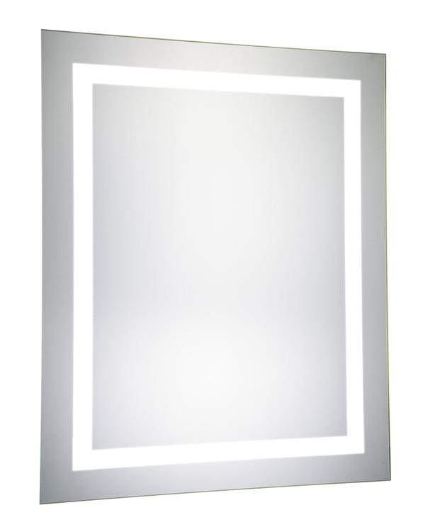 """Elegant Lighting 4 Sides LED Electric Mirror Rectangle 32""""W x 40""""H Dimmable 5000K"""