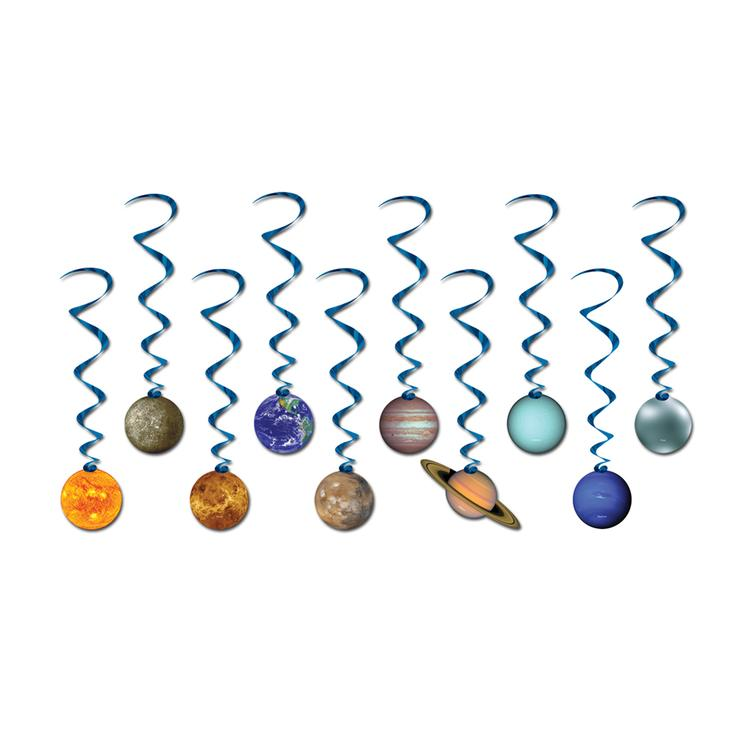 Solar System Whirls (10 Ct)- Pack of 6