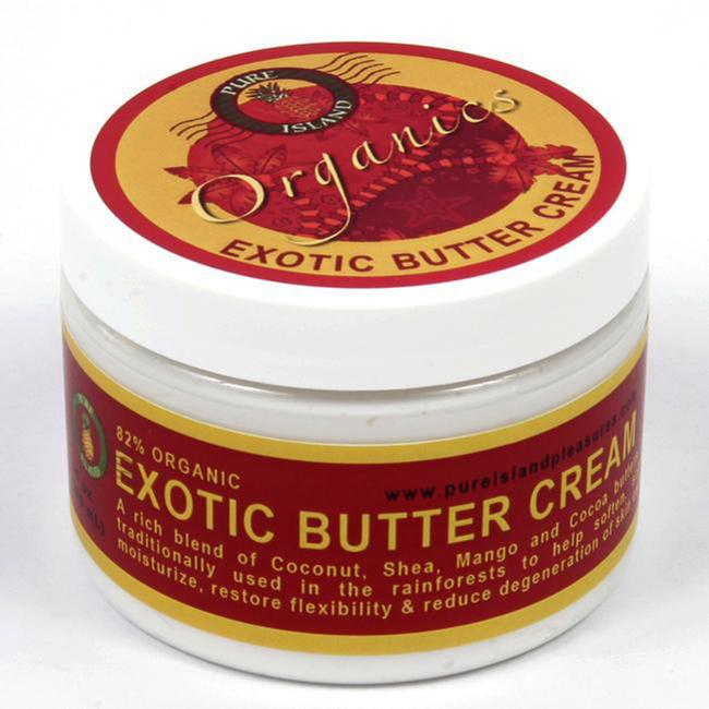Pure Island Exotic Butter Body Cream 10oz (Pack of 3)