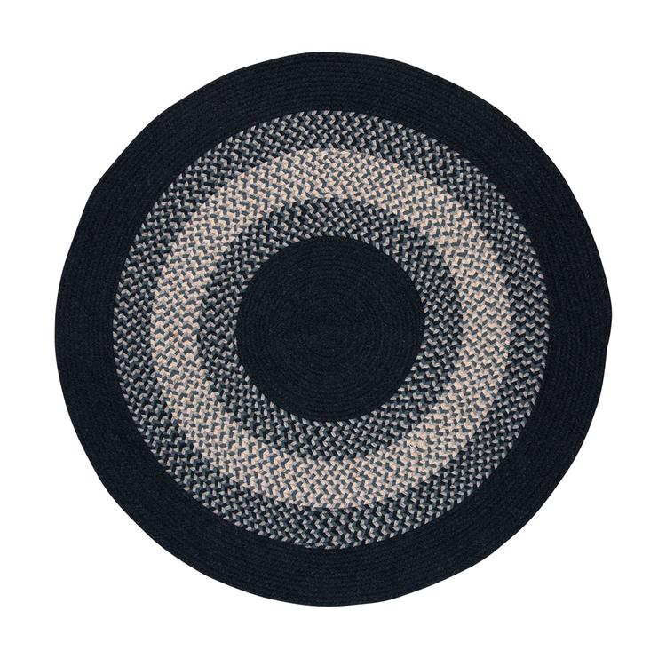 North Ridge - Navy 8'x8' Round Rug