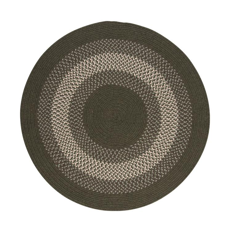 North Ridge - Olive 4'x4' Round Rug