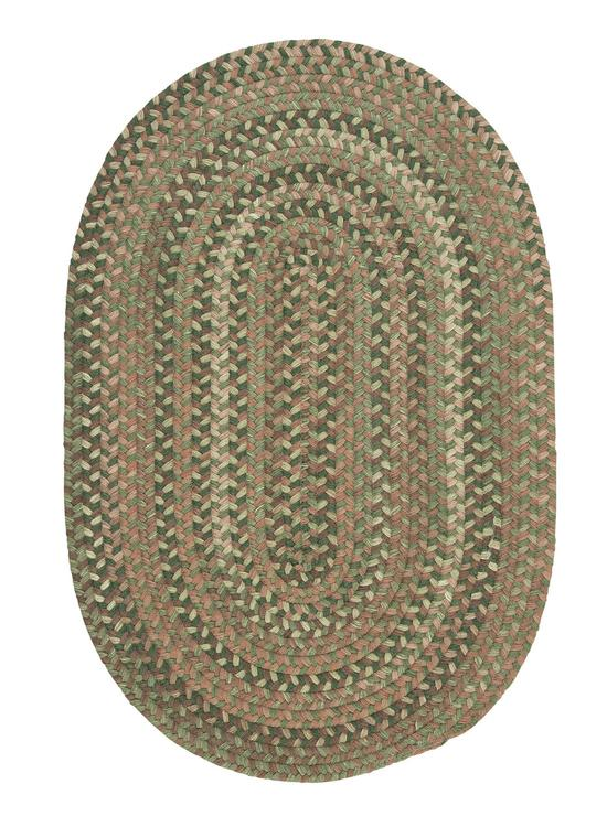 Colonial Mills Floor Decorative Oak Harbour - Cabana 10'x13' Oval Rug