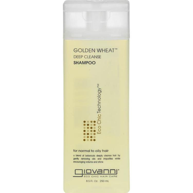 Giovanni Hair Care Products - Deep Cleanse Shampoo Golden Wheat ( 3 - 8.5 FZ)
