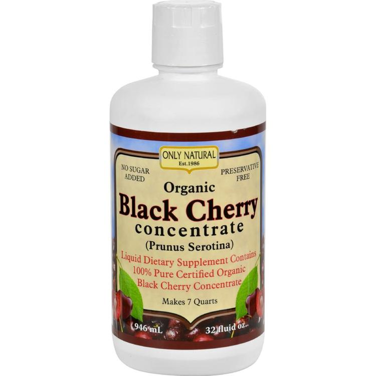 Only Natural - Organic Black Cherry Concentrate ( 1 - 32 FZ)