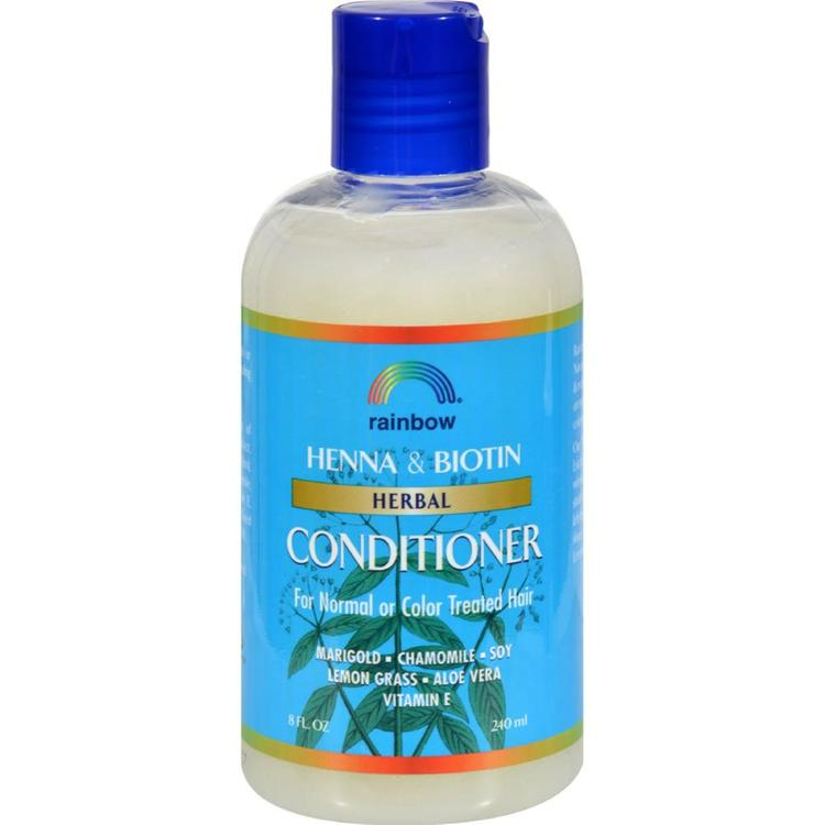 Rainbow Research - Herbal Conditioner Henna And Biotin ( 3 - 8 FZ)