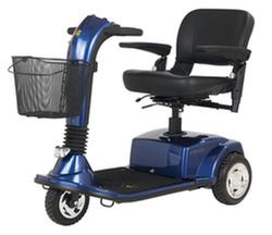 CompanionTM 3-Wheel Electric Scooter  Arctic Blue  Mid-Size