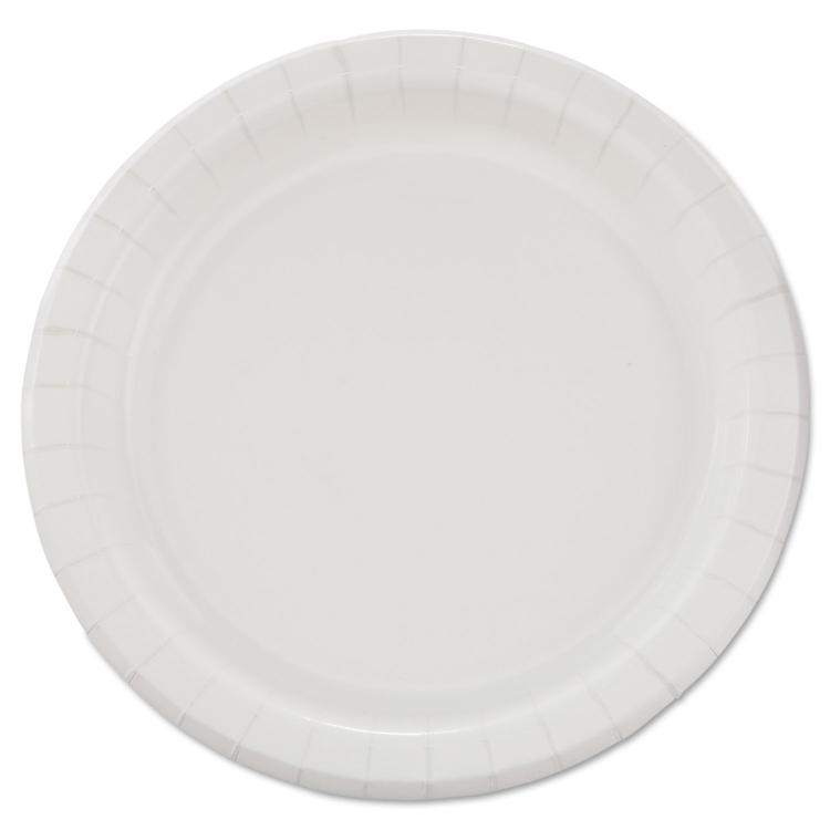 Bare Eco-Forward Clay-Coated Paper Dinnerware, Plate, 8 1/2