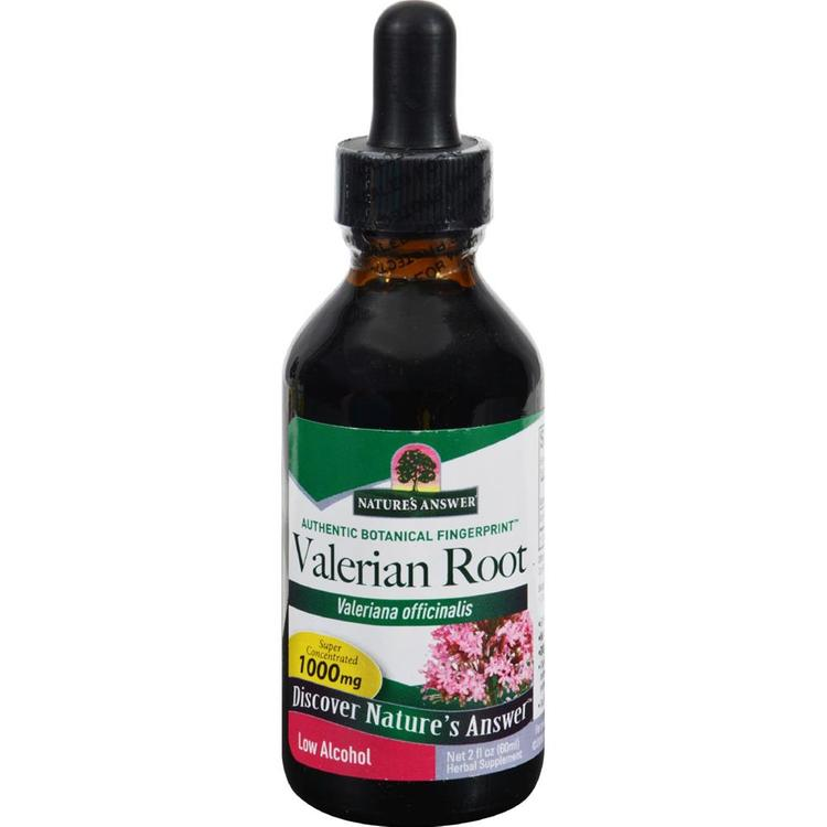 Nature's Answer - Valerian Root Extract ( 1 - 2 FZ)