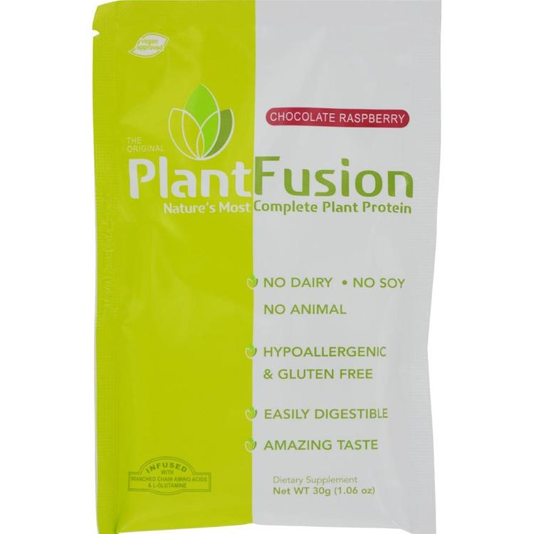 Plantfusion - Chocolate Raspberry Plant Protein Packets ( 12 - 30 GRM)