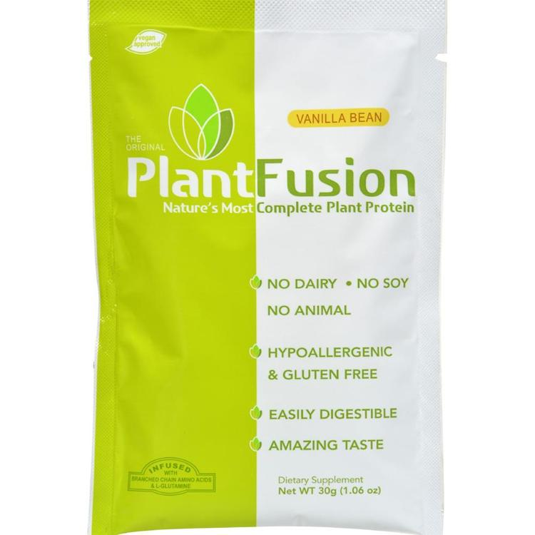 Plantfusion - Vanilla Plant Protein Packets ( 12 - 30 GRM)