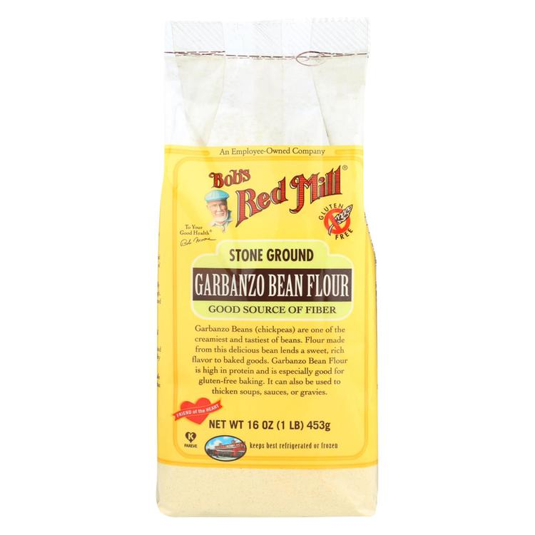 Bob's Red Mill Garbanzo Bean Flour - 16 oz - Case of 4