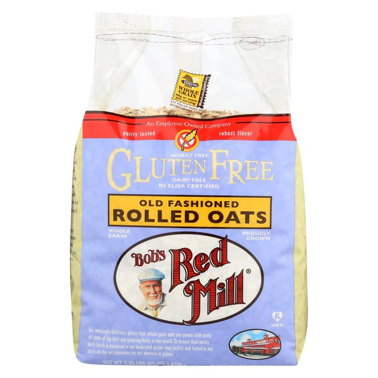 Bob's Red Mill Rolled Oats - Old Fashioned - Case of 4 - 52 oz.