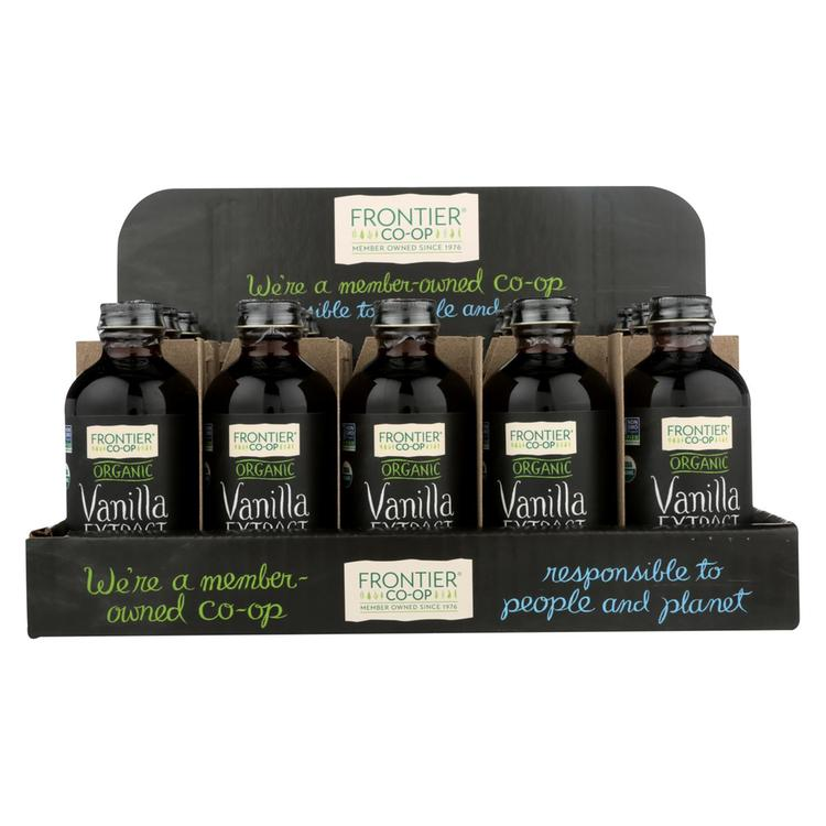 Frontier Herb - Organic - Holiday - Vanilla - Case of 15 - 4 oz