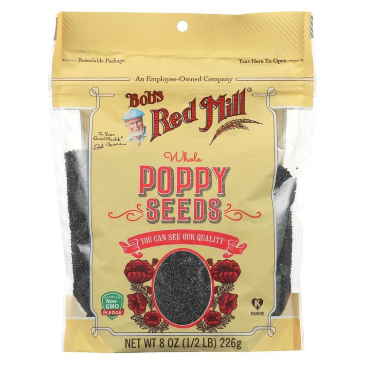 Bob's Red Mill Seeds - Poppy - Case of 6 - 8 oz